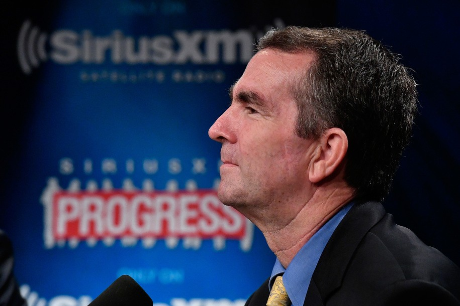 WASHINGTON, DC - AUGUST 27: Virginia's Lt. Governor Ralph Northam talks to host