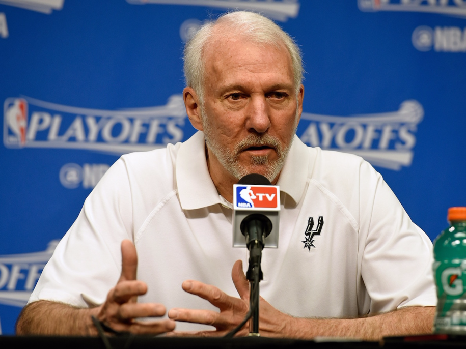 """Wow. Spurs Coach Gregg Popovich """"This man in the Oval Office is a soulless coward..."""""""