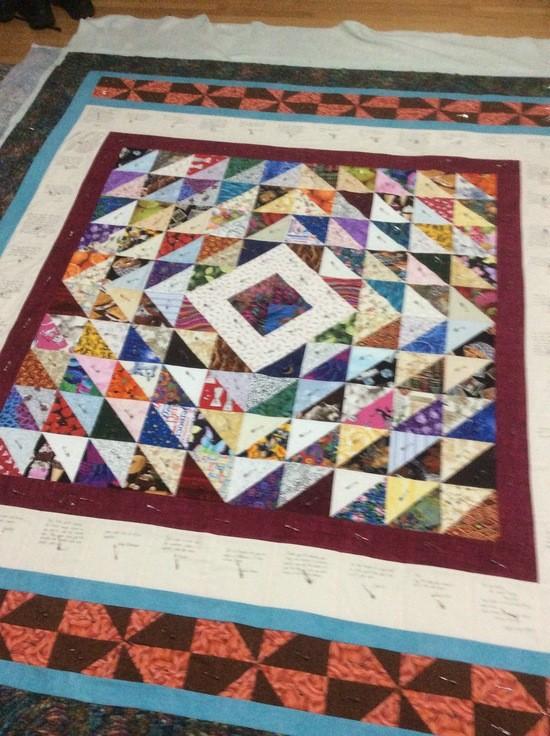 Joel Silberman's quilt