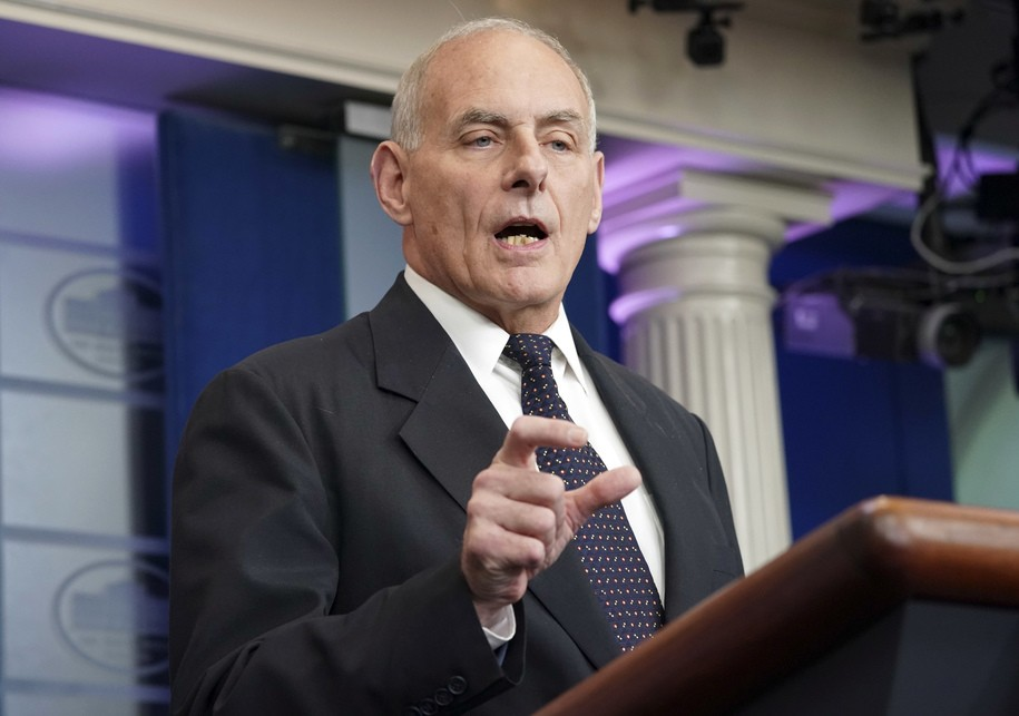 Ex-CoS Kelly Agrees with Mattis on Trump