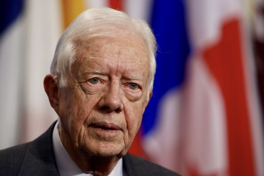 Jimmy Carter blasts the misogyny of male religious leaders—and the politicians who cower before them