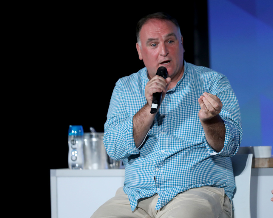 new york ny may 21 chef jose andres speaks onstage at the chelsea - World Central Kitchen
