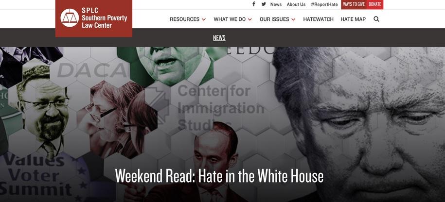 SPLC: alt-right, White Nationalist ... Terrorism!
