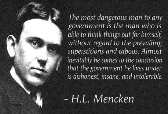 The Ghosts of H. L. Mencken