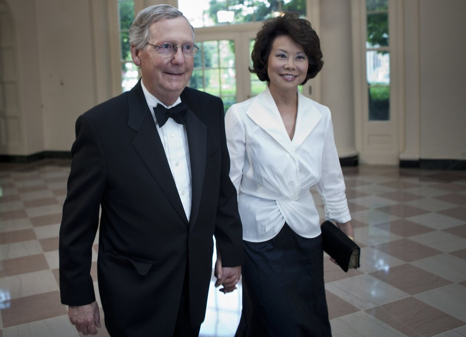 Transportation Secretary Chao turned her department into a gravy train for Kentucky and McConnell