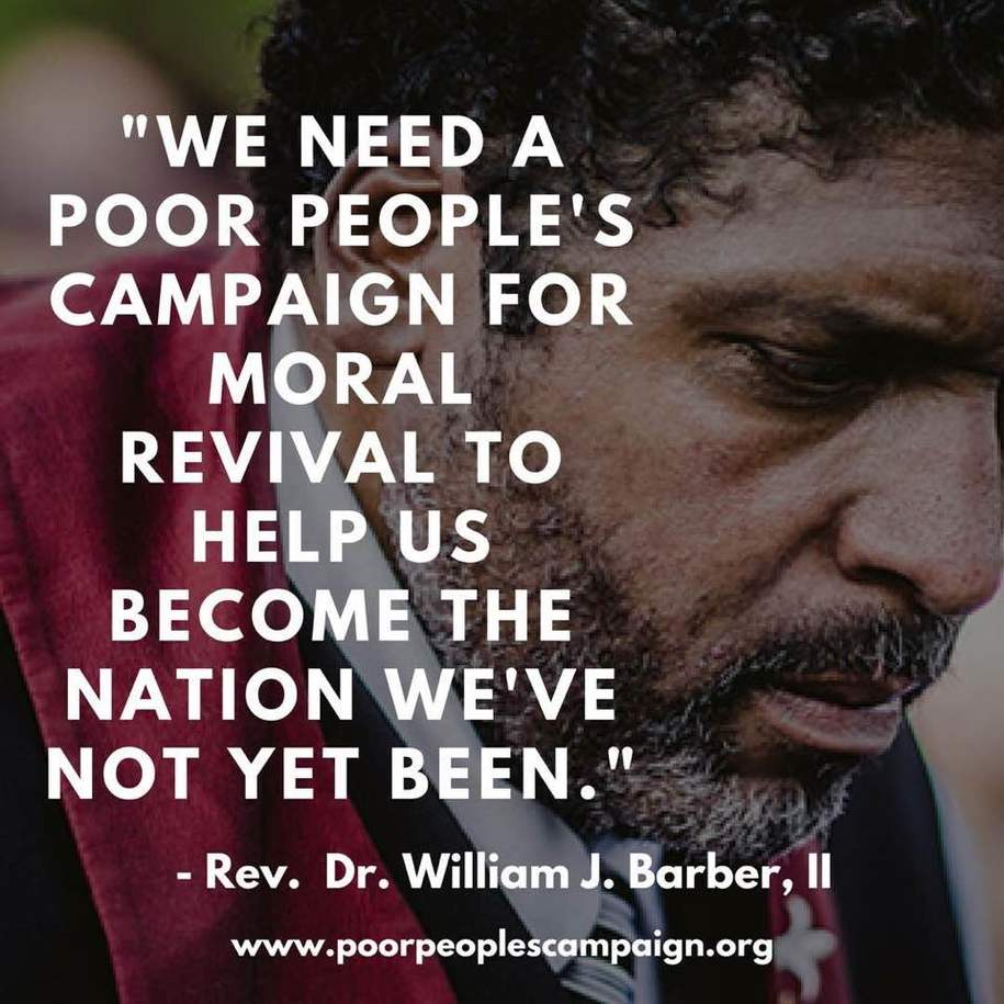 """What is happening in America's Cancertown is tragic, immoral and evil"" - Reverend William Barber"