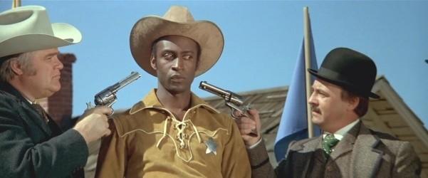 blazing saddles racist