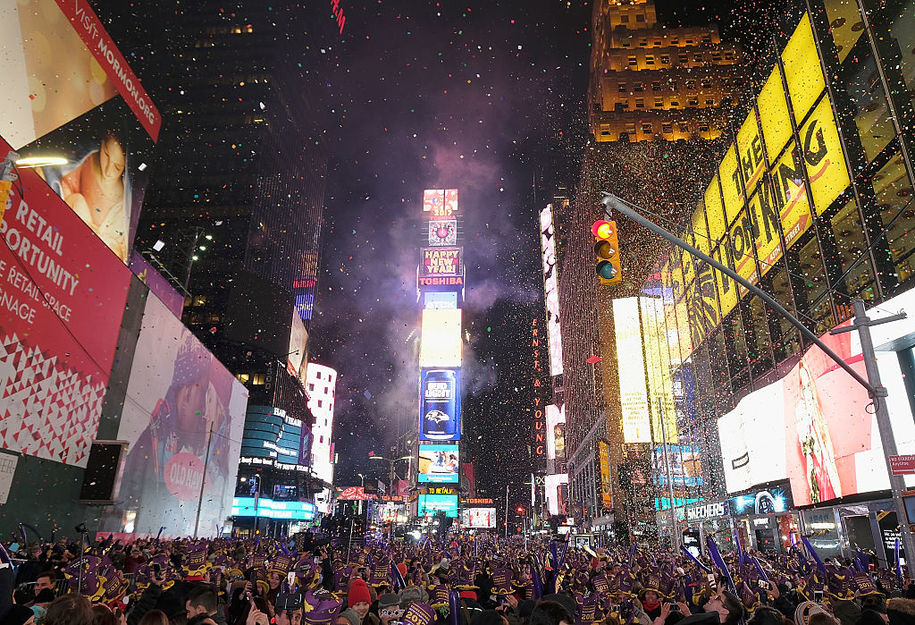 New Year's Eve in Times Square: Have you always wanted to go?