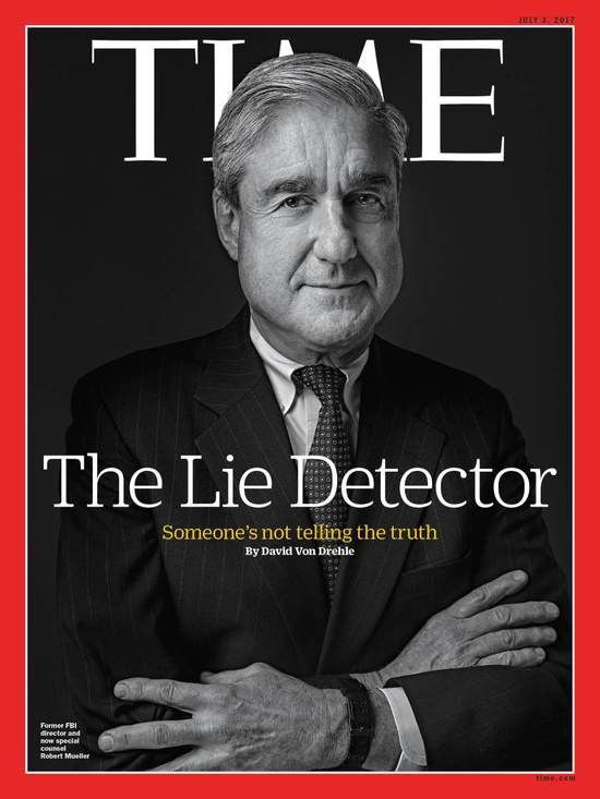 Cover Photo of Robert S. Mueller III; Time Magazine (www.Time.com)