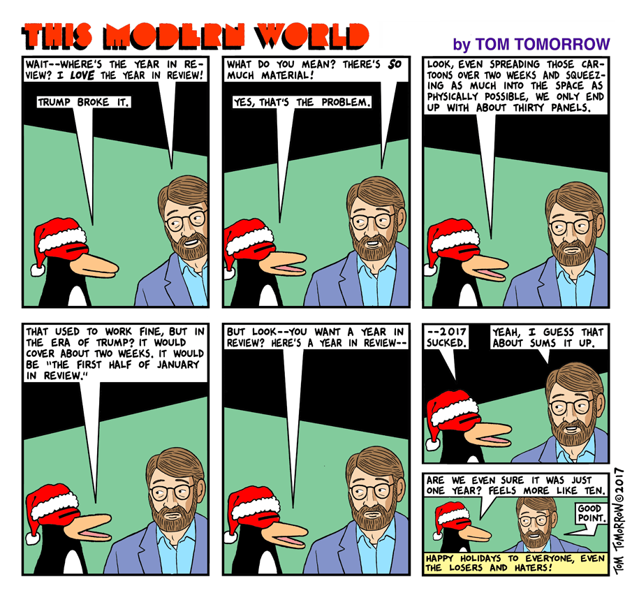 Daily Kos Tom Tomorrow - 20 funny comics that imagine what it would be like if animals could talk
