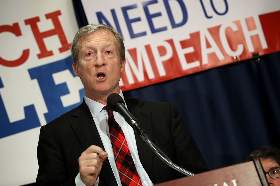 Billionaire Democratic donor Tom Steyer might enter the presidential race
