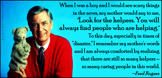 Image result for mr rogers helpers quote
