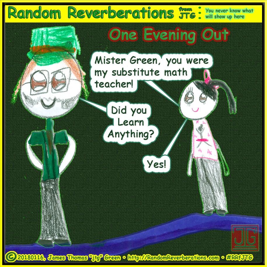 Mister Green Teaching Update