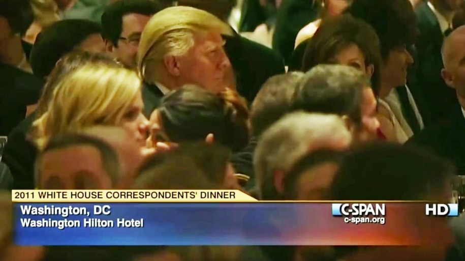 Trump chickens out again, will skip WH Correspondents' Dinner