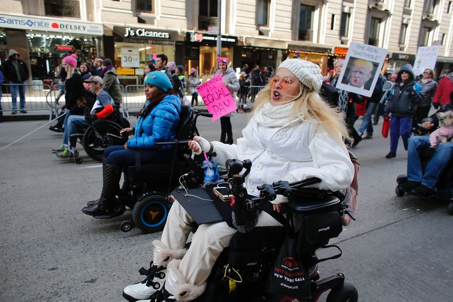#Resistance @TheVillage 4/19/18; Disability Rights Groups working to protect all Americans