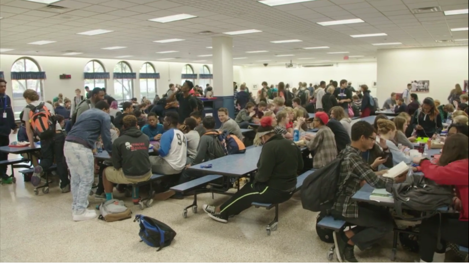 High school cafeterias are often segregated, just like the rest of America.  A new documentary series gives a look from teens' perspectives.