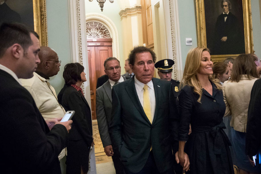 RNC Finance Chair Steve Wynn accused of forcing employees to regularly perform sex acts