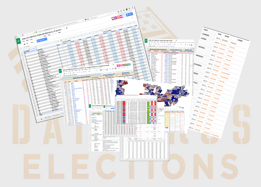 Morning Digest: Check out the new additions to our massive sets of electoral and demographic data