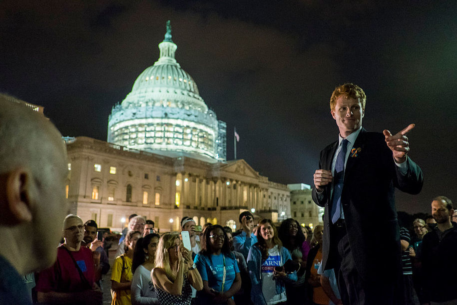 Rep. Joe Kennedy III reportedly considering Democratic primary bid vs. Massachusetts Sen. Ed Markey