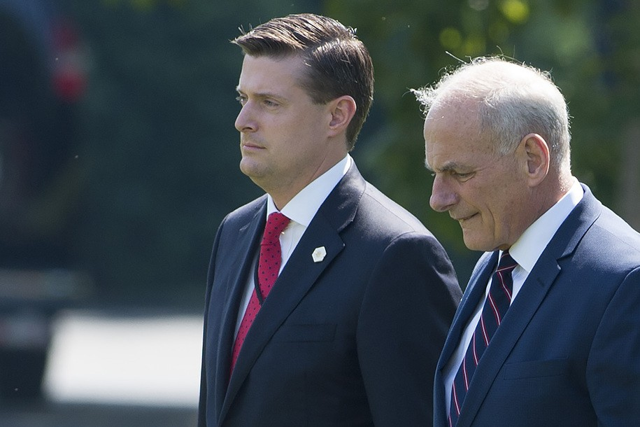 White House dodges House Oversight Committee questions about Rob Porter