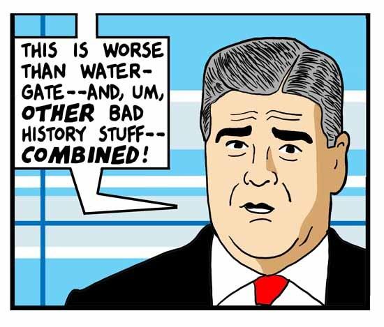 Cartoon by Tom Tomorrow - Nothing is true