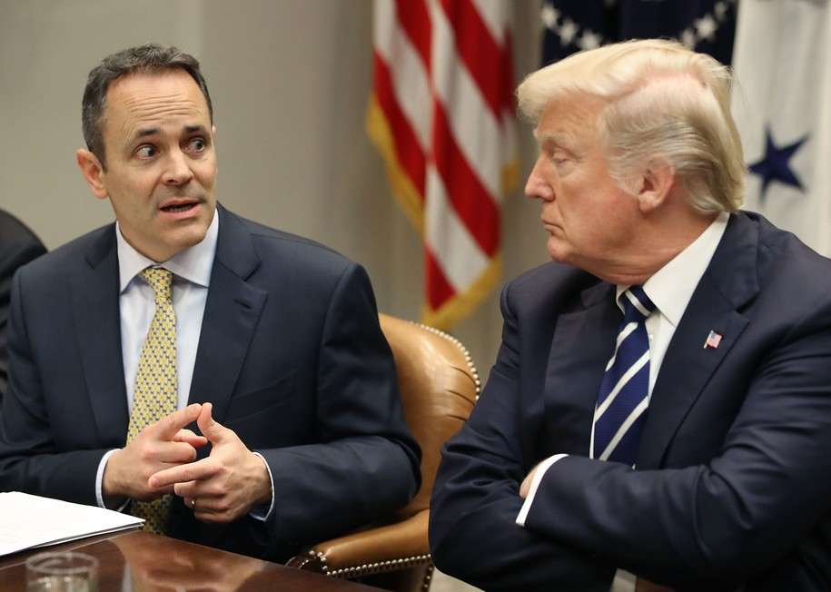 Trump throws Hail Mary pass in desperate attempt to save pathetic KY governor from defeat