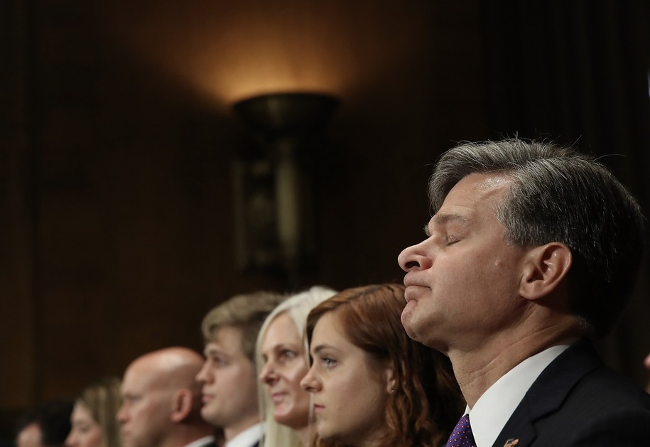 Trump picked Christopher Wray to clean up the FBI, now it's Wray who could get the broom