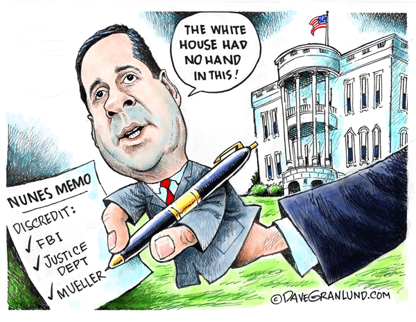 Image result for cartoon devin nunes