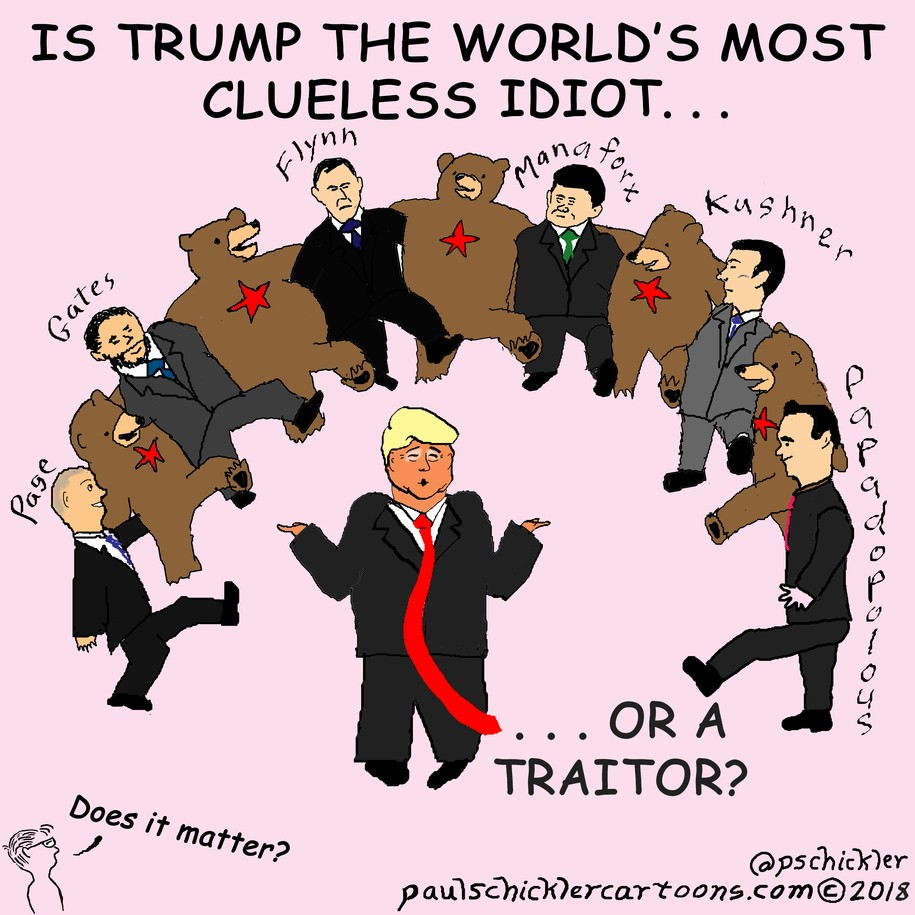 Image result for Trump, Idiot of the Year, cartoons