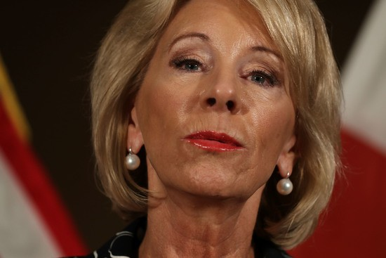 Education Department Civil Rights >> Devos Education Department Gives Itself Permission To Trash Hundreds
