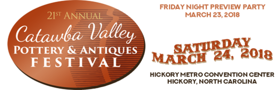 2018 Catawba Pottery Festival Graphic