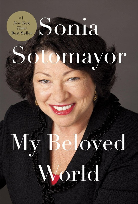 Bookcover Sonia Sotomayor autobiography
