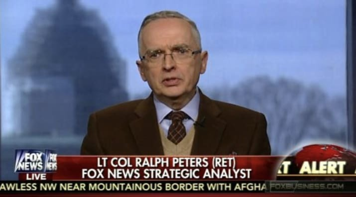 Fox military analyst says network makes him ashamed