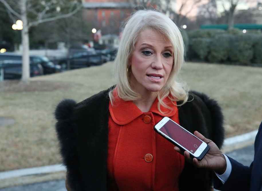Kellyanne Conway goes on TV to defend Trump calling a black reporter's question 'racist'
