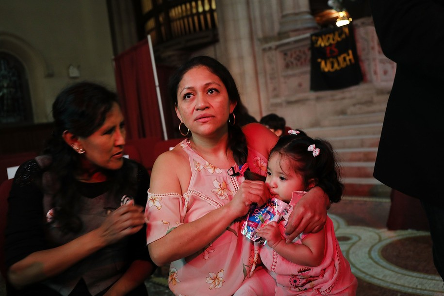 Aura Hernandez becomes second immigrant in New York City to publicly go into sanctuary