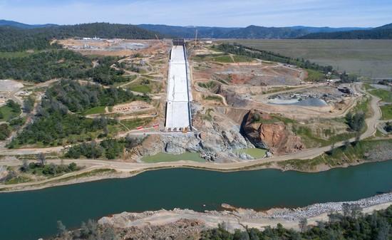 Oroville dam spillway update