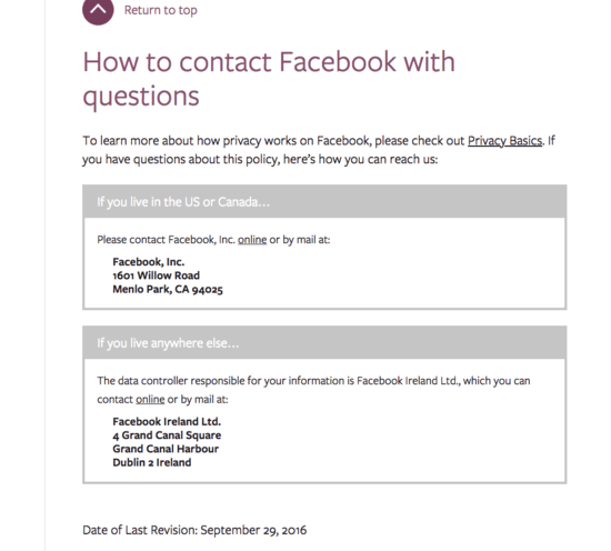 Facebook's No Help Center - The Case Against Facebook Part 2