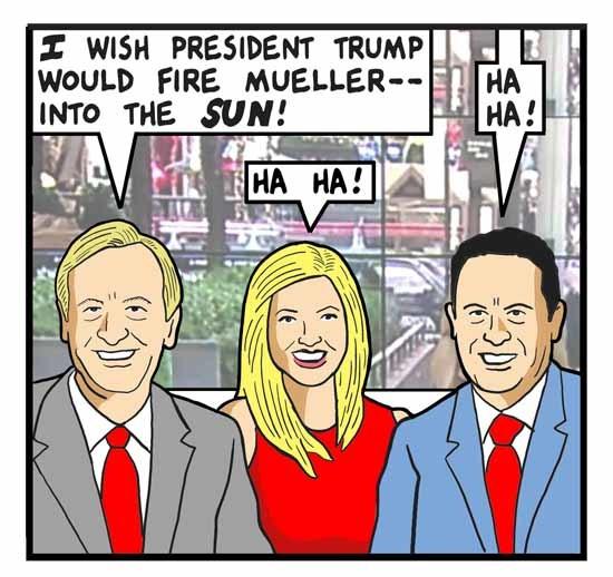 Cartoon by Tom Tomorrow - Firing Mueller