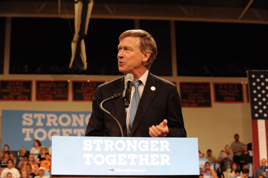 John Hickenlooper considerers Colorado Senate bid after dropping out of presidential race