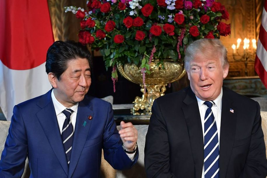 Trump's team asked Japanese Prime Minister Abe to nominate Trump for the Nobel Peace Prize