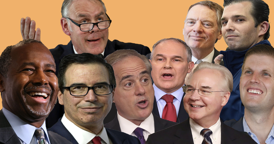 Taxpayers should be appalled by the frivolous spending of Trump's 'fiscally conservative' Cabinet