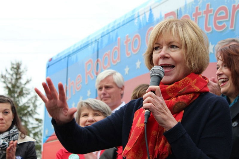 MN-SEN -- Sen. Tina Smith's Opponent Thinks It's Just Find And Dandy To Ban Refugees.
