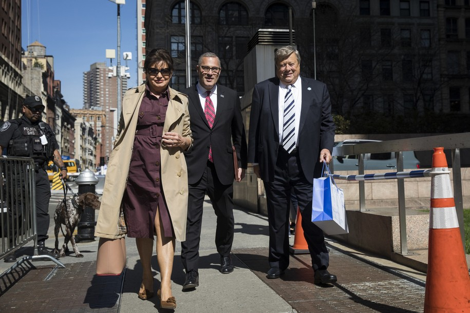 'Chain migration' for me, none for thee: Melania Trump's parents attend U.S. citizenship hearing