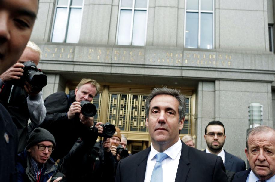 Prosecutor who brought down John Gotti interviews Michael Cohen in Manhattan DA's Trump probe
