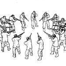 Image result for circular firing squad