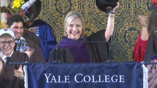 b4b9205c3b9d11 LOL - Hillary Delivers Yale's 2018