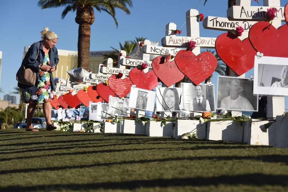 Police documents about the Las Vegas shooter show he's a right-wing terrorist but no one will say so