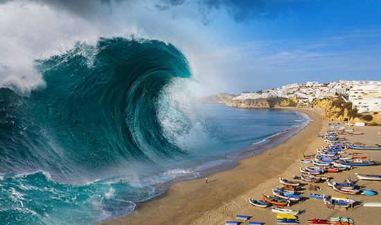 Tsunami Alert: Blue Wave Approaching Fast
