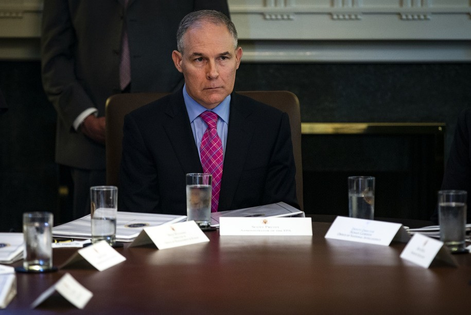 Corrupt EPA chief used government staff to secure a job for his wife with a conservative DC group