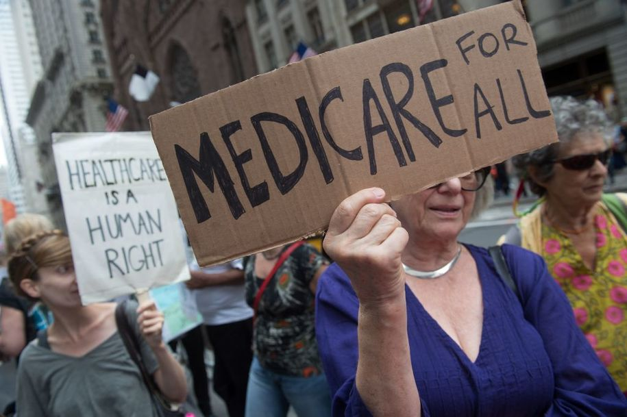 Civiqs survey: People with employer-based insurance aren't afraid of Medicare for all